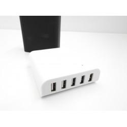 Caricatore Adattatore Universale 4 USB 100-240V 5V 8A - Nero