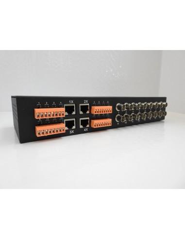 Musical Instruments & Gear Smart Coppia Trasmettitore Ricevitore Av Power Balun Utp At All Costs Dj Equipment