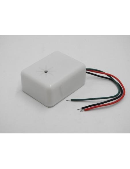 Mini Microfono da cablare per telecamere videosorveglianza range 5Mq - 80 Mq 6-12v dc