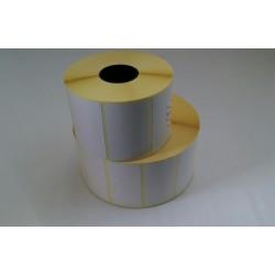 68x61 anima 40 - Rotolo Etichette Termiche adesive - N 1000 etichette