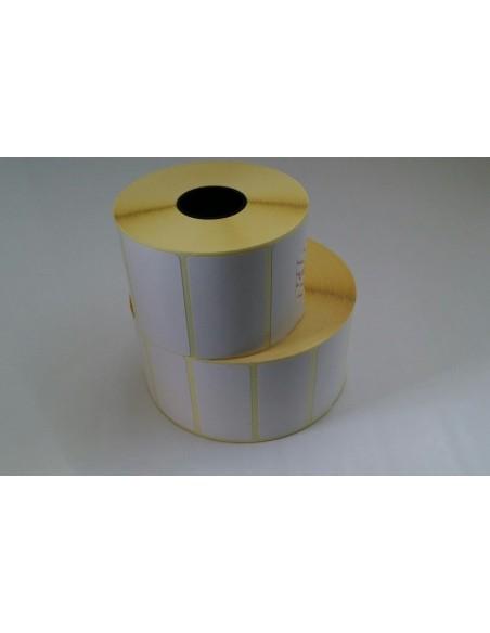 56X35 anima 25 - Rotolo Etichette Termiche adesive - N 2000 etichette