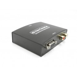HDMI TO VGA + R/L Video e Audio Converter - 5 V 1080p