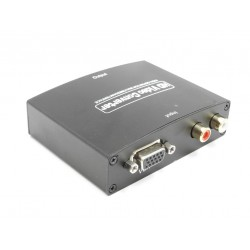 VGA + R/L TO HDMI Video e Audio Converter - 5 V 1080p
