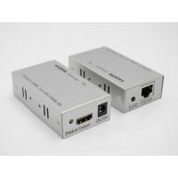 HDMI EXTENDER 60 METRI CAT5E / 6 / 7 FULL HD 1080P 5V - RICEVITORE E TRASMETITORE