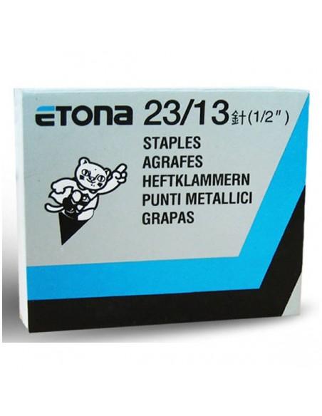 ETONA 23/13 Punti metallici per cucitrice a pinza - 13 mm