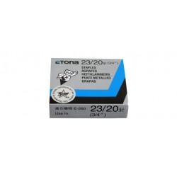 ETONA 23/20 Punti metallici per cucitrice a pinza - 20mm