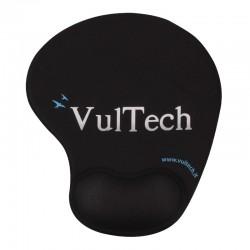 Mouse pad - Tappetino ergonomico con gel per mouse - Nero
