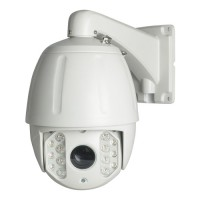 "IP NETWORK Speed Dome motorizzata 1/2.7"" OmniVision Low Illumination 2MP CMOS 22X IR 120M"
