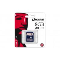 KIGNSTON 8GB SDHC CLASS 4 FLASH CARD