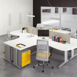 Composizione Workstation - postazione di lavoro LANZAFOR01 - MADE IN ITALY