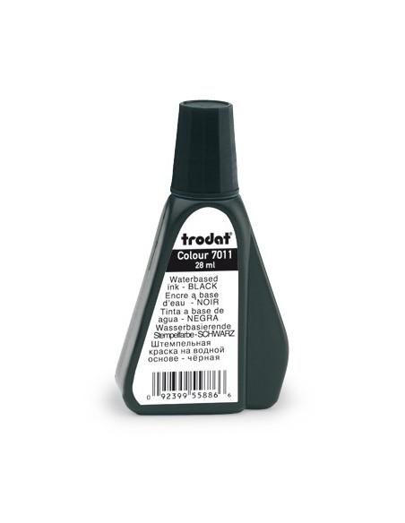 Inchiostro di alta qualità 7011 Trodat® , 28 mL nero