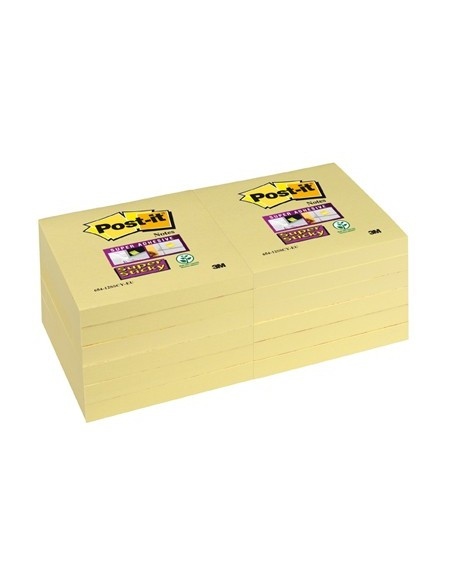 Post-it Super Sticky gele Notes 76x76 mm - Pak van blokken