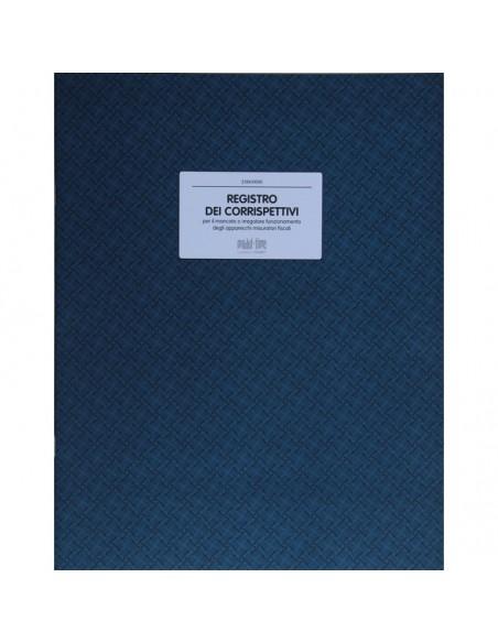 REGISTRO CORRISPETTIVI - per mancato o irregolare funzionamento registratore di cassa 46 pagine numerate