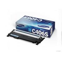 Samsung CLT-C406S toner originale cyan (1000 pagine) per stampanti CLP-360, CLP-365, CLX-3300, CLX-3305, C410W, C460