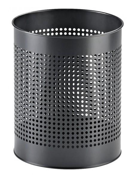 Cestino L6005 con fori colore Nero