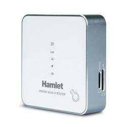 Pocket 3G  WI-FI Router Halmet 4 in 1 (Battery bank, Micro SD file sharing, WI-FI hotspot, Router 3G)