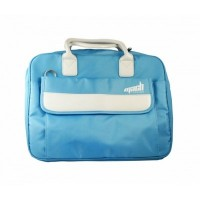"Borsa Laptop Linea Fashion NYLON/PELLE - Per notebook fino a 15,4/15,6"" - Celeste"