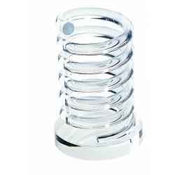 Portapenne Spirale in acrilico trasparente Scatto