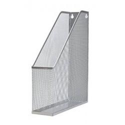 Portadocumenti rigido per ufficio in rete metallica Argento