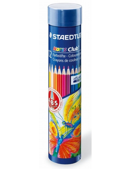 12 Matite colorate Staedtler - Noris Club