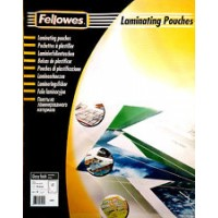 Pouches lucide 80 microns formato 600X426mm A2 mm Fellowes 53092 50pz