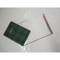 Rubrica address book tascabile SIRE - verde scozzese