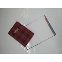 Rubrica address book tascabile SIRE - rosso scozzese