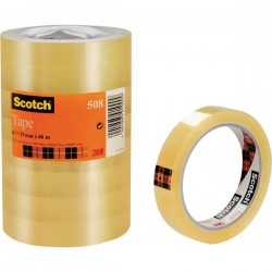 Scotch Tape 15 mm x 66 m - Trasparente