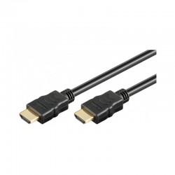 Cavo HDMI High Speed M-M con Ethernet nero da 10 metri