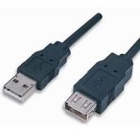Cavo Prolunga USB 2.0 con 1 Ferrite di Altà Qualità da 5 metri