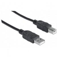 Cavo USB 2.0 A Maschio - B Maschio 2 metri