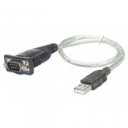 Convertitore Adattatore da USB a Serial 45 cm in blister