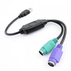 Cavo adattatore USB to PS2 per tastiera e mouse