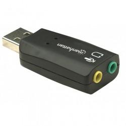 Scheda audio esterna 2.1 USB suono 3D
