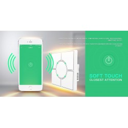 ZIGBEE SMART HOME - CONTROL PANNEL 5 SCENE CONTROLLER