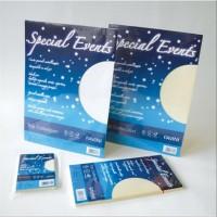 """Busta e carta metallizzata """"""""Special Events"""" 110x220 mm 120g"""