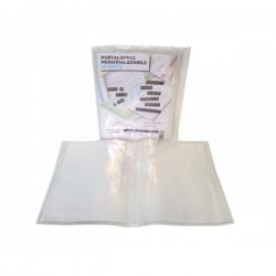 Portale Listino Personalizzabile 30 buste trasparenti 22x30 cm
