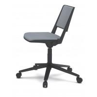 "Seduta Dattilo ""F 01"" sedile e schienale imbottiti"