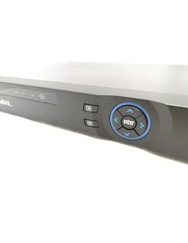 NUOVO XVR 8 CH ANALOGICI 32 CANALI IP 5 IN 1 IP / AHD / CVI / TVI / CVBS 1080P 2X SATA HDMI VGA ALARM AUDIO FREEIP CLOUD