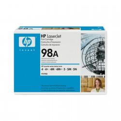 TONER ORIGINALE HP 92298A 98A PER LASERJET 4 4+ 4M 4M+ 5 5M 6800 COPIE