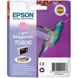 EPSON T0806 cartuccia originale C13T08064011 COLORE LIGHT MAGENTA