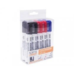 Scatto 7010-ASS Marker white board 2mm colori assortiti, scatola 1x10pz