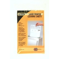 LASER PRINTER CLEANING SHEETS FELLOWES