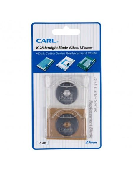 Carl - Lama Disk Cutter K-28 PK2