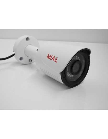 "Telecamera AHD 1080P 2.4MPX 1/2.9"" - OSD - LED ILLUMINAZIONE NOTTURNA FINO A 20 METRI IP66"