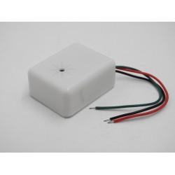 Mini Microfono cablato per telecamere videosorveglianza range 5Mq - 80 Mq 6-12v dc