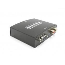 HDMI TO VGA + R/L Video e Audio Converter - 5 V 1080p