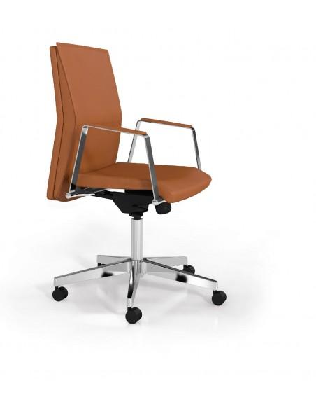 """Seduta semi-direzionale """"Athena"""" con schienale medio"""