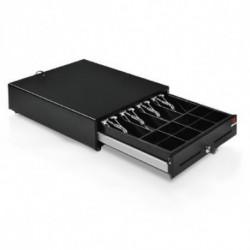 Cassetto per registratore di cassa COLORE NERO IN METALLO 12V - standard